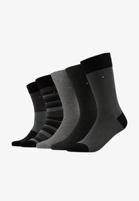 Tommy Hilfiger - MEN BIRDEYE GIFTBOX 5 PACK - Calze - black - 1