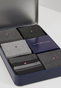 Tommy Hilfiger - MEN BIRDEYE GIFTBOX 5 PACK - Calze - black - 2