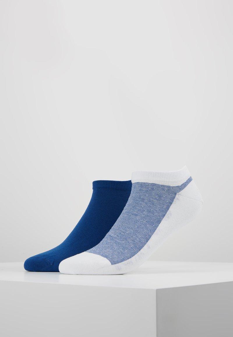 Tommy Hilfiger - MEN MICRO SNEAKER 2PACK - Socken - white/blue