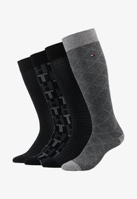 Tommy Hilfiger - MEN GIFTBOX 4PACK - Skarpety - grey - 1
