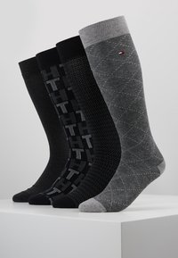 Tommy Hilfiger - MEN GIFTBOX 4PACK - Socks - grey - 0