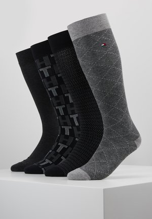 MEN GIFTBOX 4PACK - Chaussettes - grey