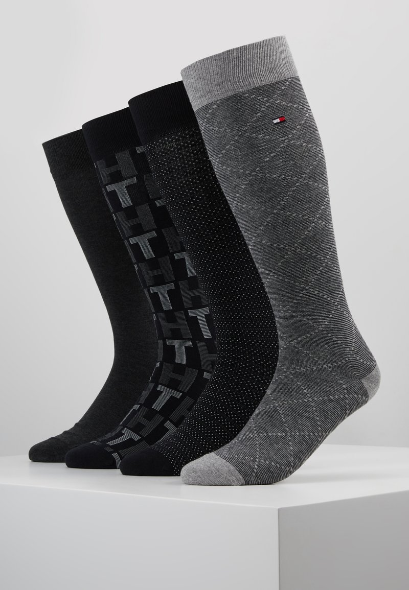 Tommy Hilfiger - MEN GIFTBOX 4PACK - Socks - grey