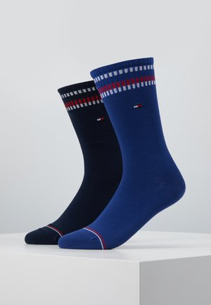 MEN SOCK NEW PETE 2 PACK - Chaussettes - dark navy