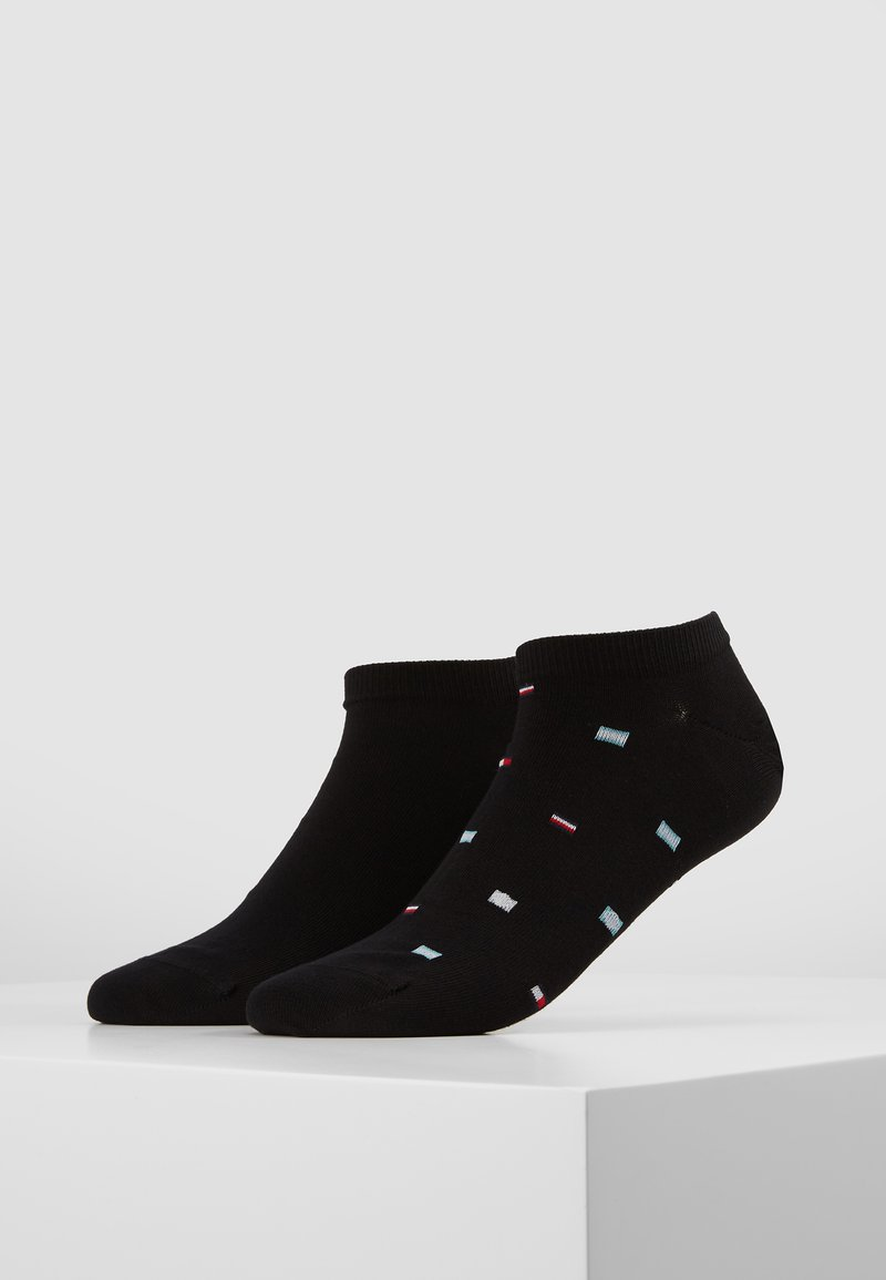 Tommy Hilfiger - SMALL FLAGS 2 PACK - Calcetines - black