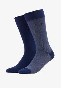 Tommy Hilfiger - MICRO STRIPE 2 PACK - Chaussettes - bright blue - 1