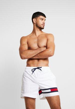 MEDIUM DRAWSTRING - Shorts da mare - white