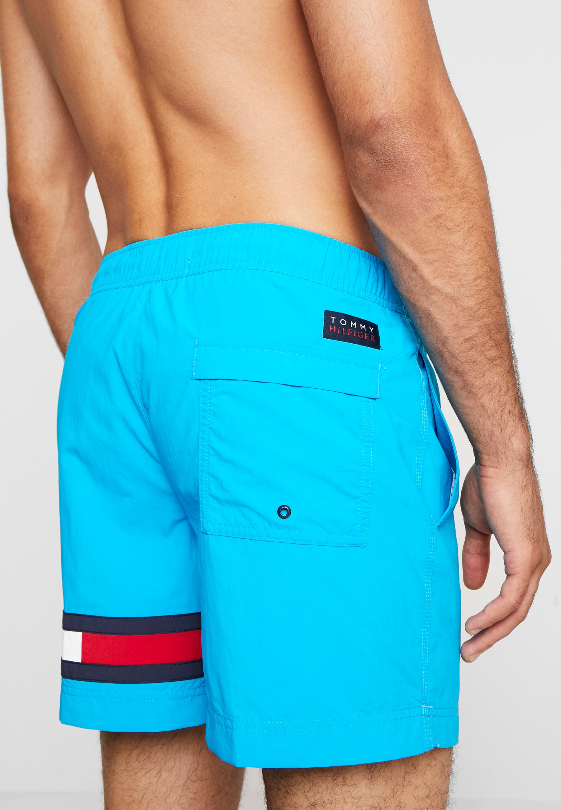 Tommy Hilfiger MEDIUM DRAWSTRING - Swimming shorts - blue