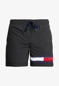 Tommy Hilfiger - MEDIUM DRAWSTRING - Plavky - black - 2