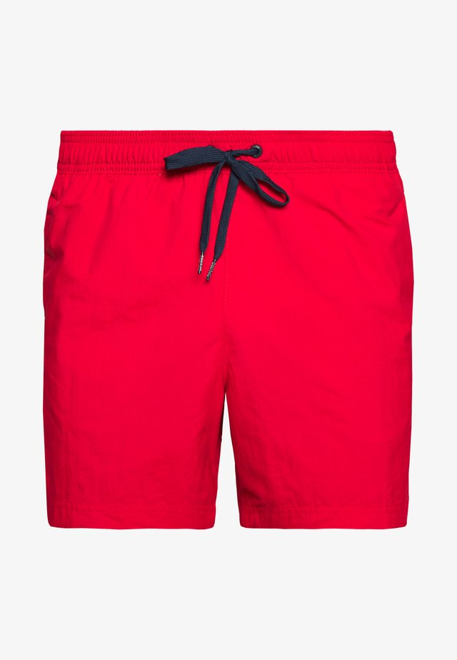 MEDIUM DRAWSTRING - Badeshorts - red