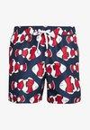 Tommy Hilfiger - MEDIUM DRAWSTRING - Swimming shorts - red