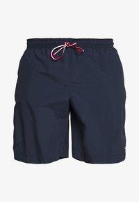 Tommy Hilfiger - MEDIUM DRAWSTRING - Swimming shorts - blue - 0