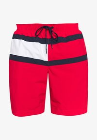 Tommy Hilfiger - MEDIUM DRAWSTRING - Swimming shorts - red - 0