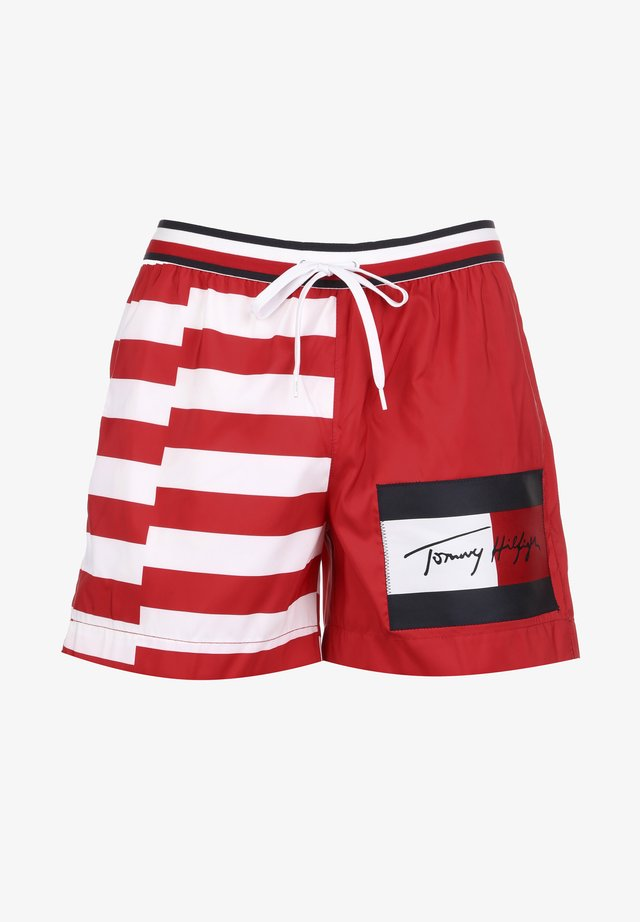 Swimming shorts - red glare