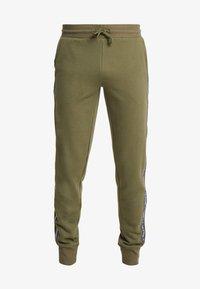 Tommy Hilfiger - TRACK PANT - Bas de pyjama - green - 3