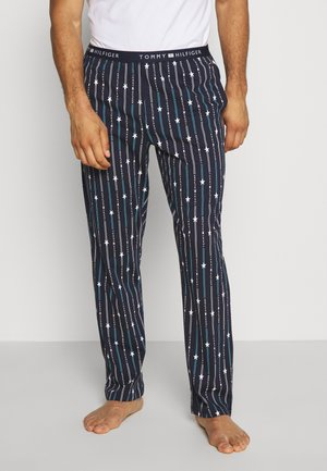 PANTS - Pyjamasbukse - blue