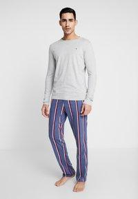 Tommy Hilfiger - Pijama - blue/mottled grey - 1