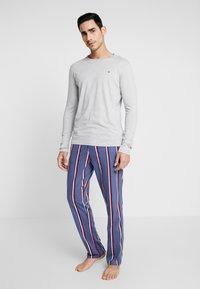Tommy Hilfiger - Pijama - blue/mottled grey - 0