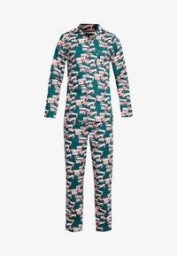 Tommy Hilfiger - LOGO WOVEN SET - Pyjama - green - 4