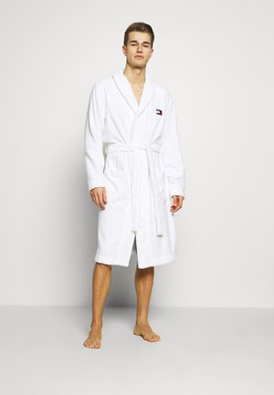 TOWELLING ROBE - Badjas - white