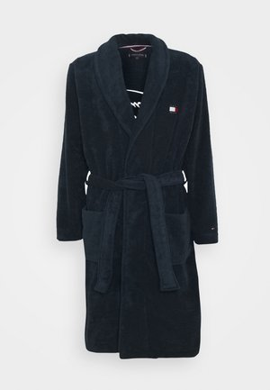 TOWELLING ROBE - Dressing gown - blue