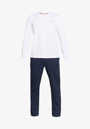 PANTS PRINT SET - Pyžamo - white