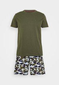 Tommy Hilfiger - WOVEN SET PRINT - Pyjama - green - 3