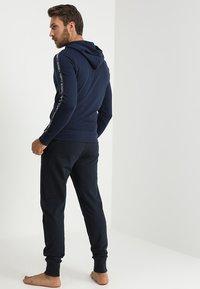 Tommy Hilfiger - HOODY  - Pyjama top - blue - 2