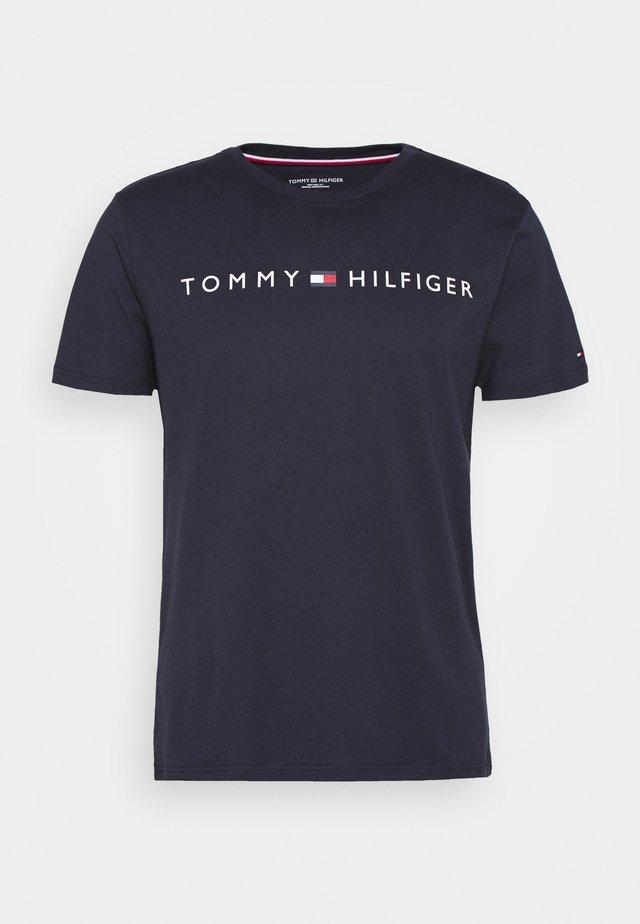 TEE LOGO - T-Shirt print - blue