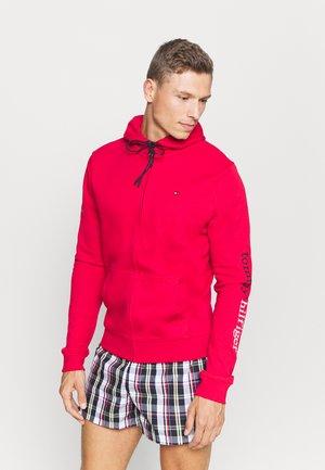 HOODIE - Pyjama top - red