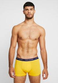 Tommy Hilfiger - TRUNK 3 PACK - Culotte - yellow/ royal blue/ green - 1