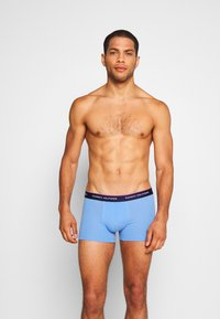 Tommy Hilfiger - TRUNK 3 PACK - Shorty - yellow/blue/teal - 2