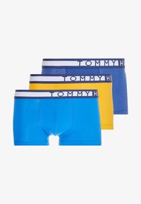 Tommy Hilfiger - TRUNK 3 PACK - Shorty - black/dark blue - 3