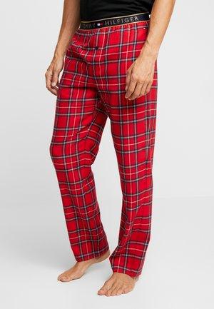 CHECK PANT - Pantalón de pijama - red