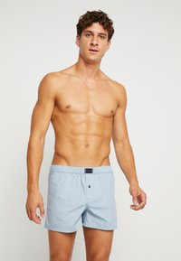Tommy Hilfiger - 2PACK - Boxershort - blue/ white/ red - 0