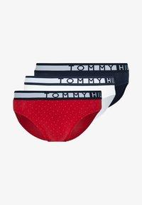 Tommy Hilfiger - BRIEF 3 PACK - Braguitas - dark blue/white/red - 5