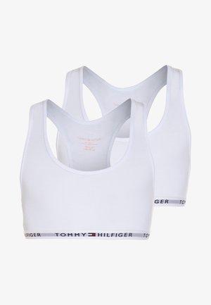 BRALETTE ICONIC 2 PACK - Korzet - white