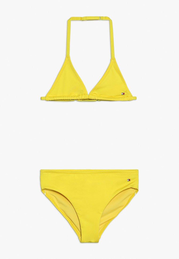 Tommy Hilfiger - TRIANGLE SET - Bikini - yellow