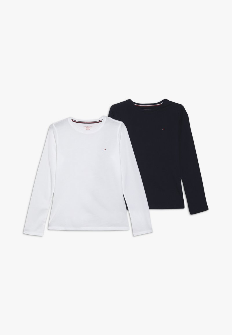Tommy Hilfiger - TEE 2 PACK - Caraco - white
