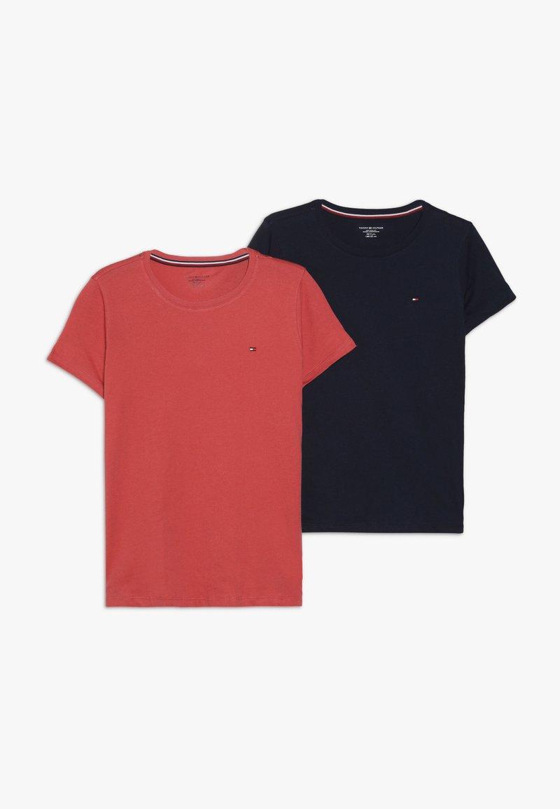 Tommy Hilfiger - TEE 2 PACK  - T-shirt basique - blue
