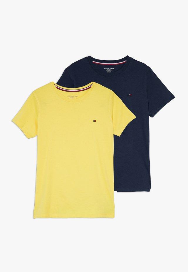 TEE 2 PACK  - Camiseta básica - blue