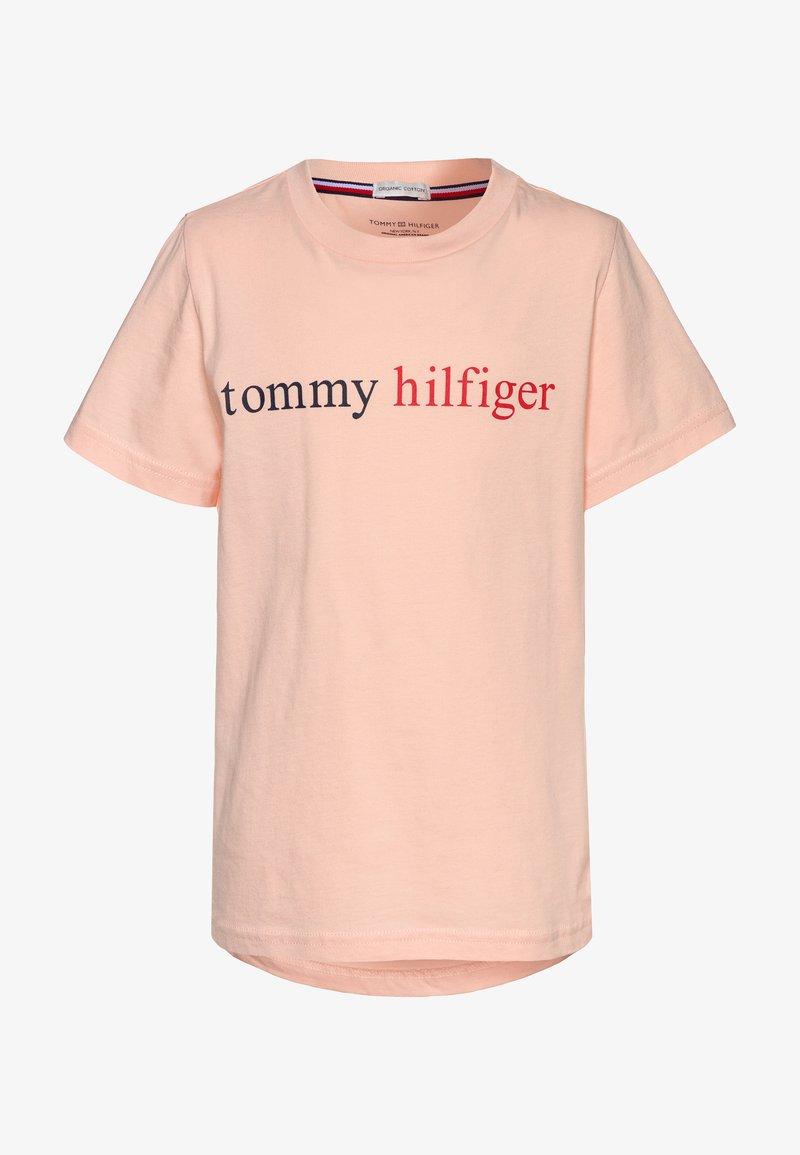 Tommy Hilfiger - TEE LOGO - Tílko - pink