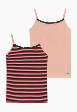 CAMI STRIPE 2 PACK - Caraco - pink