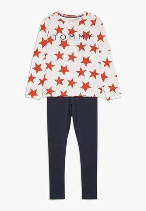 STARS SET - Pyjama - white