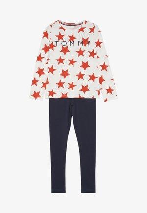STARS SET - Pyžamová sada - white