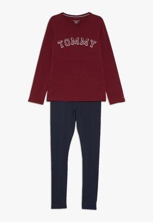 SET LOGO - Pyžamová sada - red