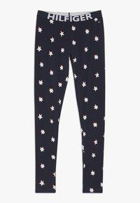 Tommy Hilfiger - LEGGING STARS - Pyžamový spodní díl - blue - 0