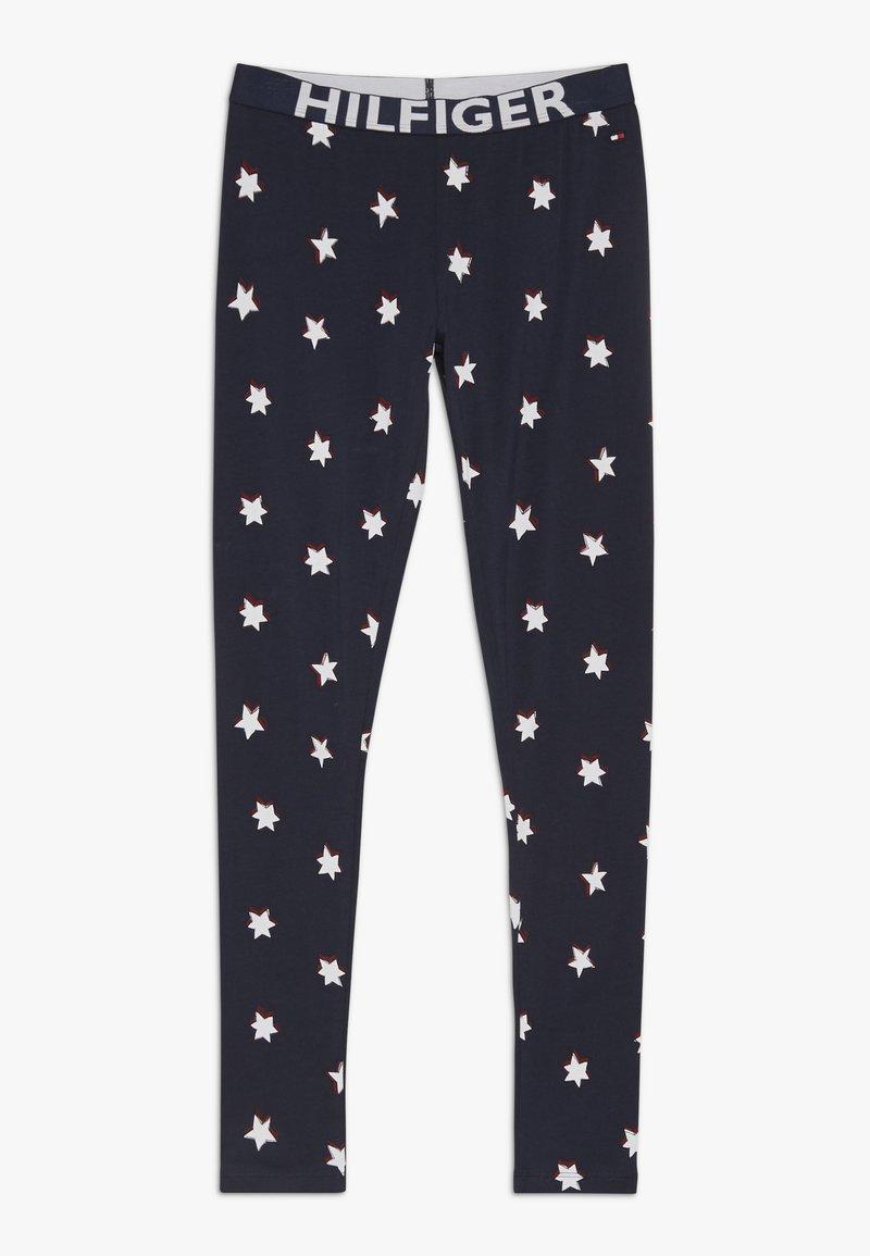Tommy Hilfiger - LEGGING STARS - Pyžamový spodní díl - blue