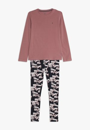 LOGO - Pyžamová sada - light pink
