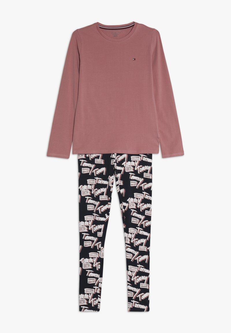 Tommy Hilfiger - LOGO - Pyžamová sada - light pink